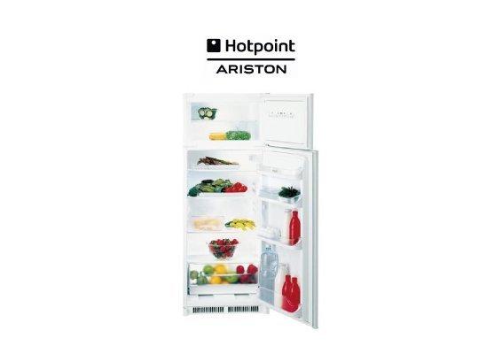Hotpoint Frigorifero Doppia Porta Bd 2422 Ha Raffreddamento Manuale Classe A Capacità Netta 220 Litri